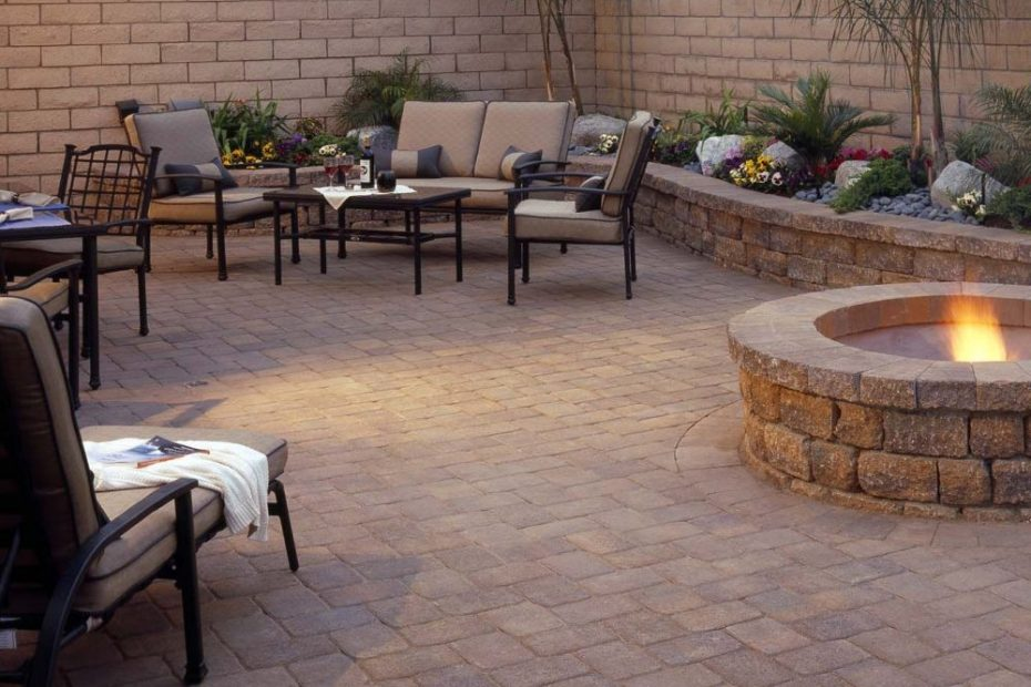 Paver Patio in Kingsport using Belgard Design Concepts